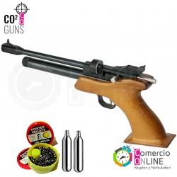 Pistola Co2 postón 5.5 | 7...