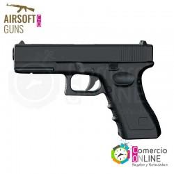 Pistola airsoft-glock 17,...
