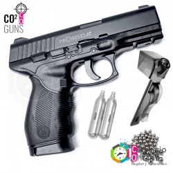 Pistola CO2 Balín de acero...