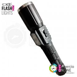 Linterna táctica LED T6 USB...
