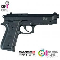 Pistola CO2 Beretta| Swiss...