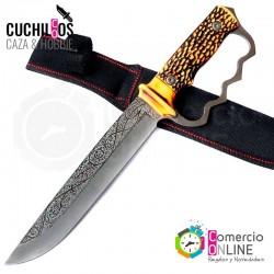 Cuchillo Cacho De Vaca Full...