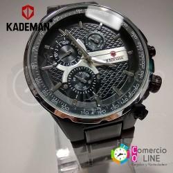 Reloj Kademan negro...