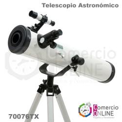 Telescopio astronómico con...