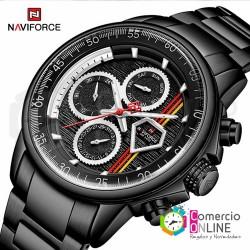 Reloj Naviforce negro...